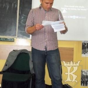 Spotkanie z pisarzem Zbigniewem Masternakiem