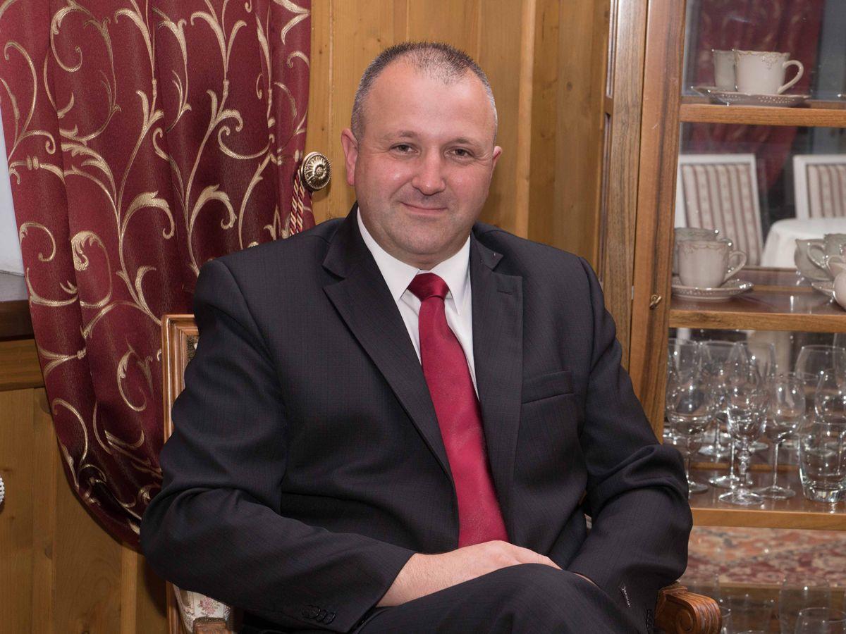 Paweł Fyda Burmistrz Miasta Grybów