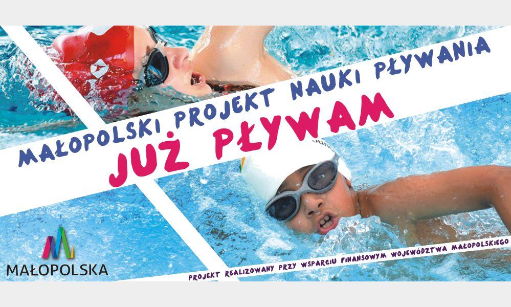 """Małopolski Projekt Nauki Pływania """"Już pływam"""""""