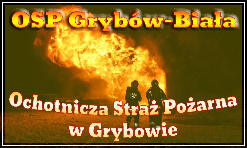 Strona OSP Grybów-Biała