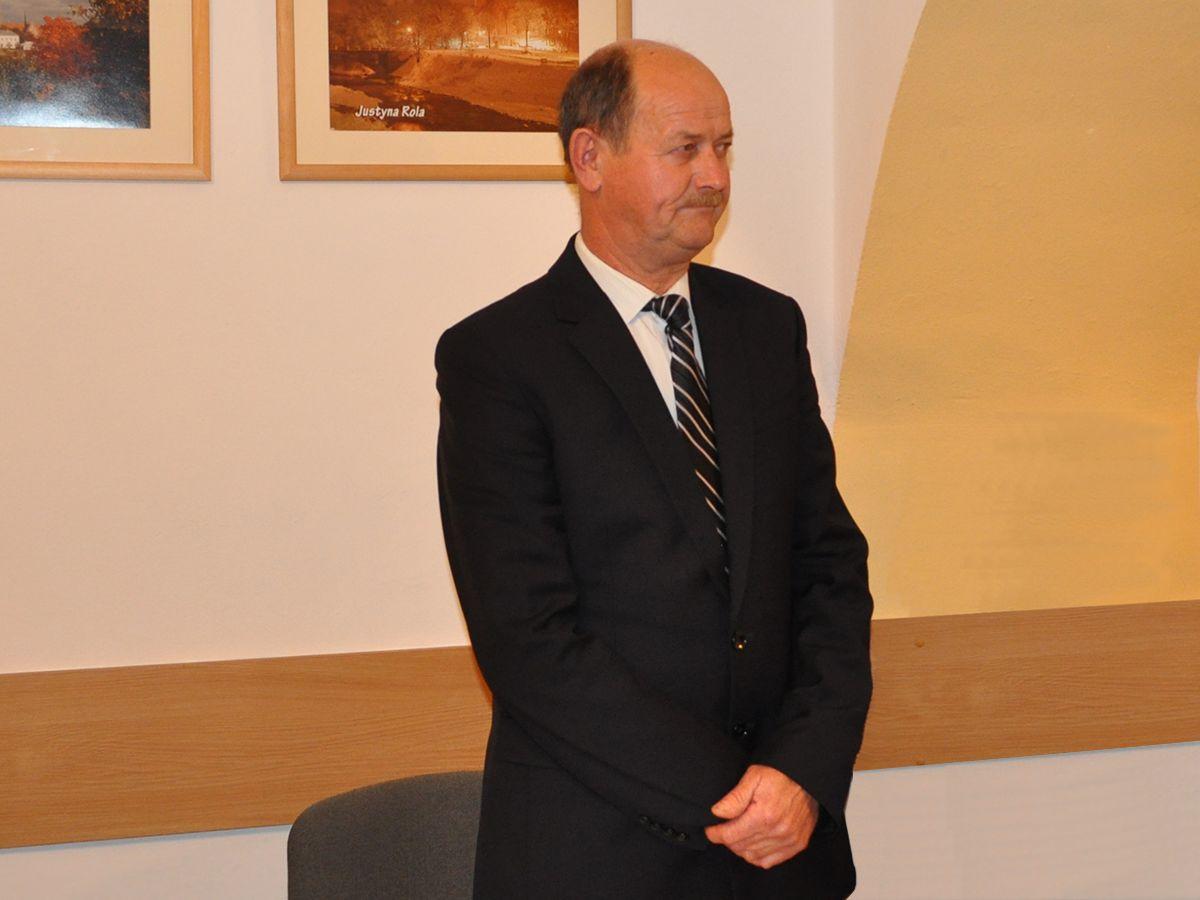 Józef Góra Przewodniczący rady Miejskiej w Grybowie