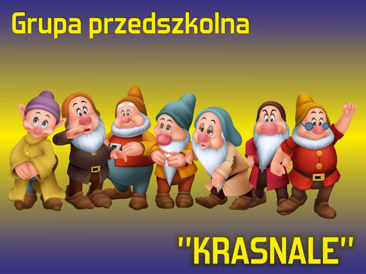 """Grupa przedszkolna """"Krasnale"""""""