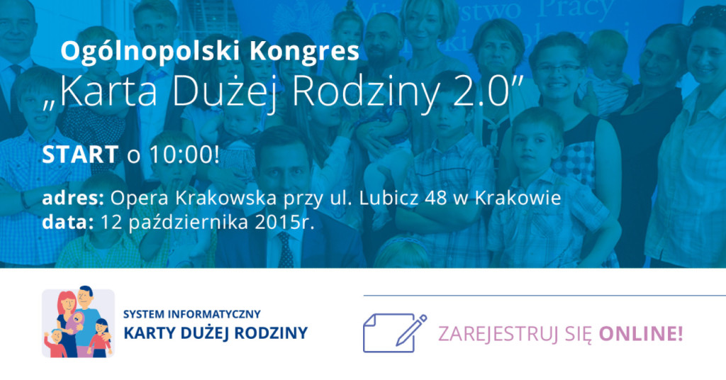 Zaproszenie na kongres w Krakowie