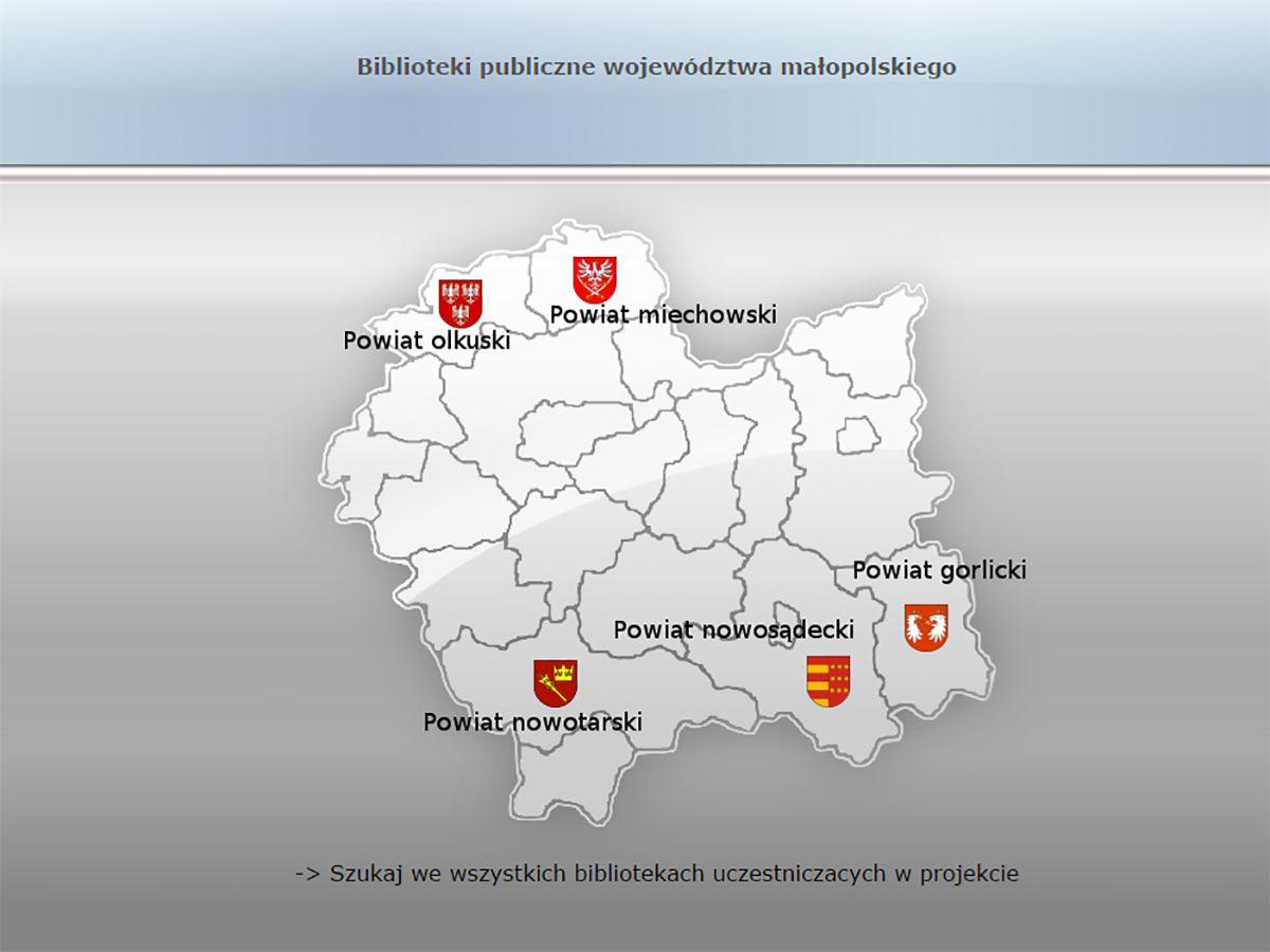 Biblioteki publiczne województwa małopolskiego