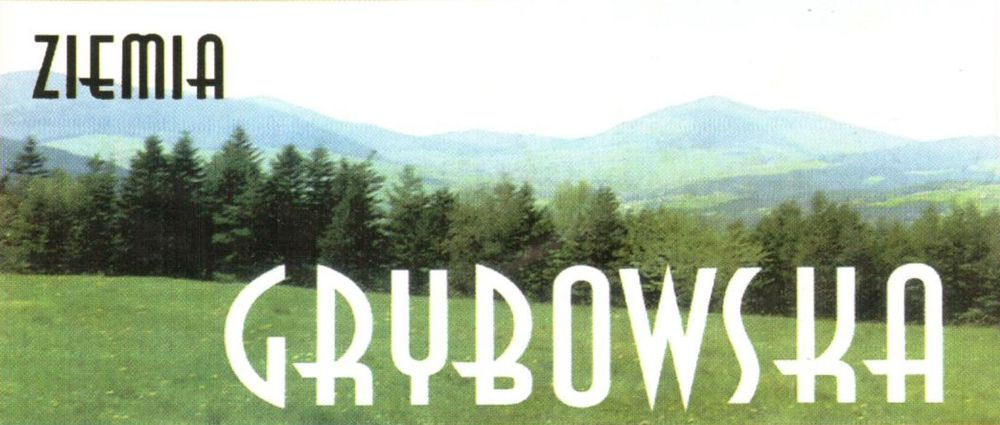 """Logo """"Ziemi Grybowskiej"""""""