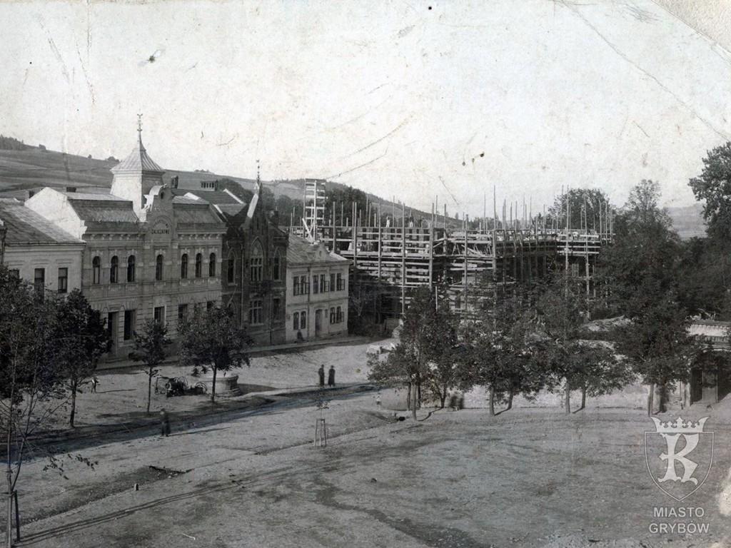Budowa nowego kościoła (22 września 1911 roku)