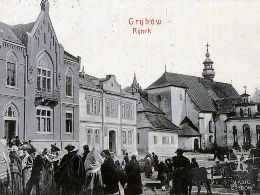 Jarmark w Grybowie (początek XX wieku)