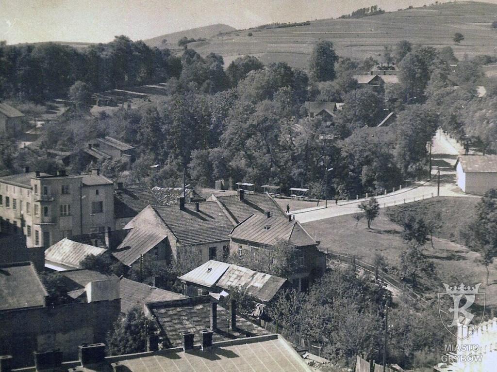 Widok na ul. Jakubowskiego (lata 60-te XX wieku)