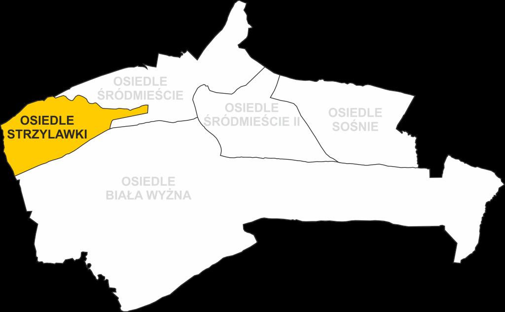 Granice Osiedla Strzylawki