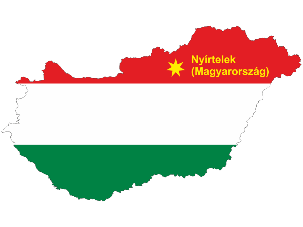 Lokalizacja Nyírtelek (Magyarország)
