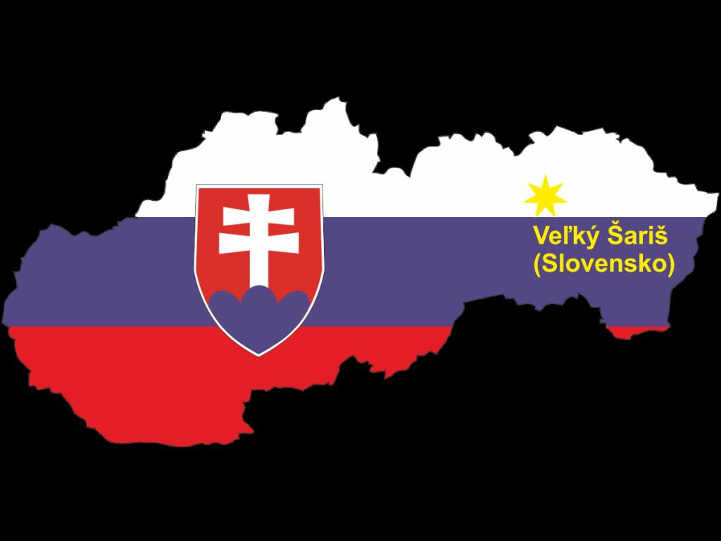 Lokalizacja Veľký Šariš (Slovensko)