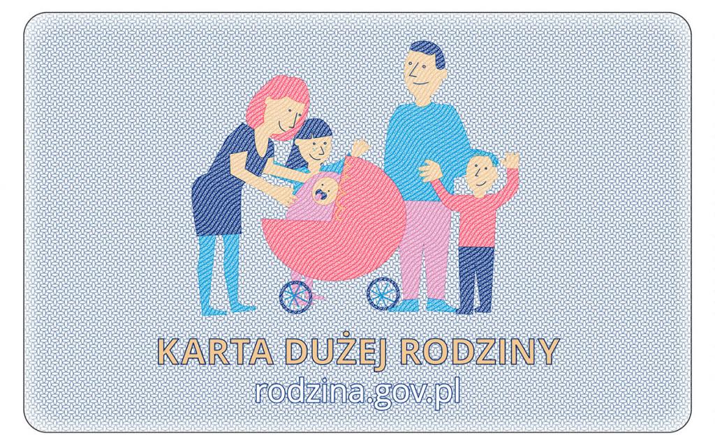 Karta Dużej Rodziny (awers)