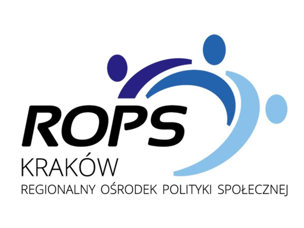 Logo Regionalnego Ośrodka Polityki Społecznej wKrakowie