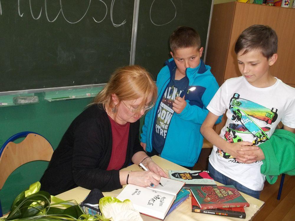 Spotkanie z poetką Beatą Ostrowicką