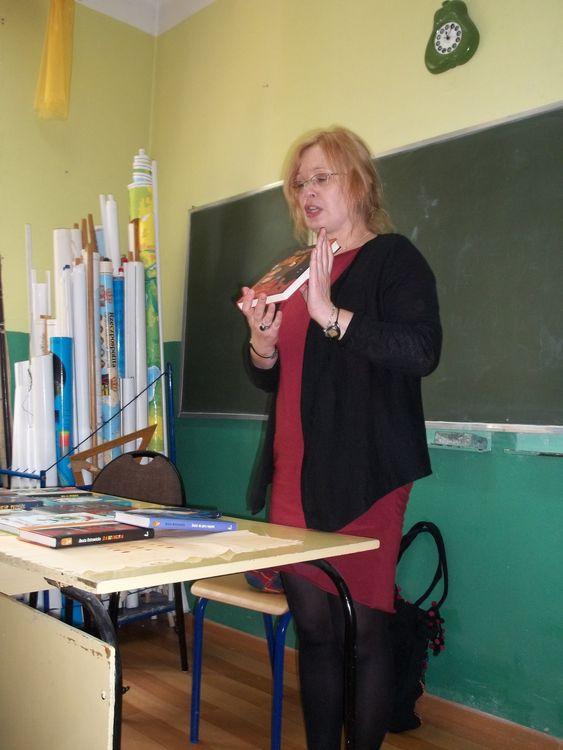 Spotkanie zpoetką Beatą Ostrowicką