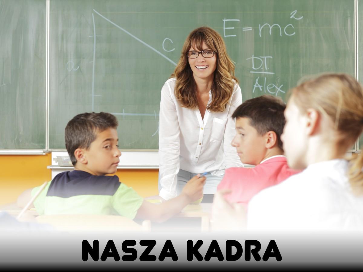 Kadra pedagogiczna w Szkole Podstawowej Nr 2