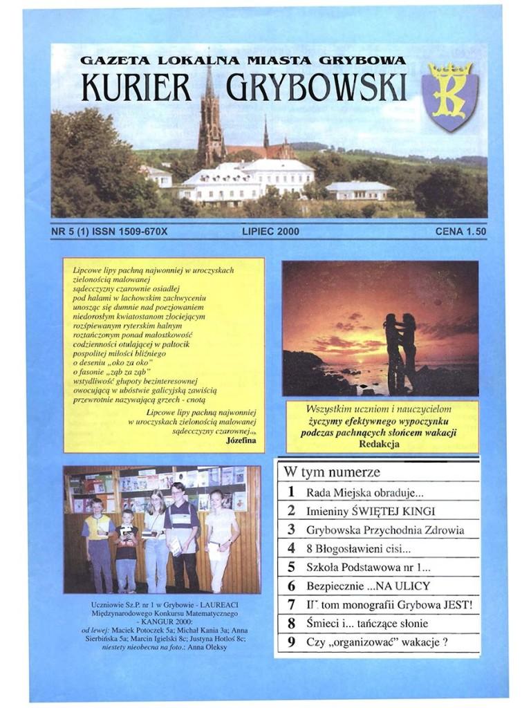 Kurier Grybowski (nr05) - okładka
