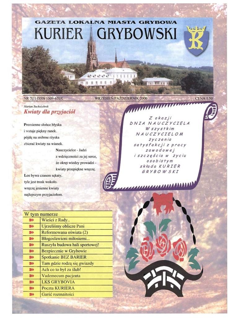 Kurier Grybowski (nr07) - okładka