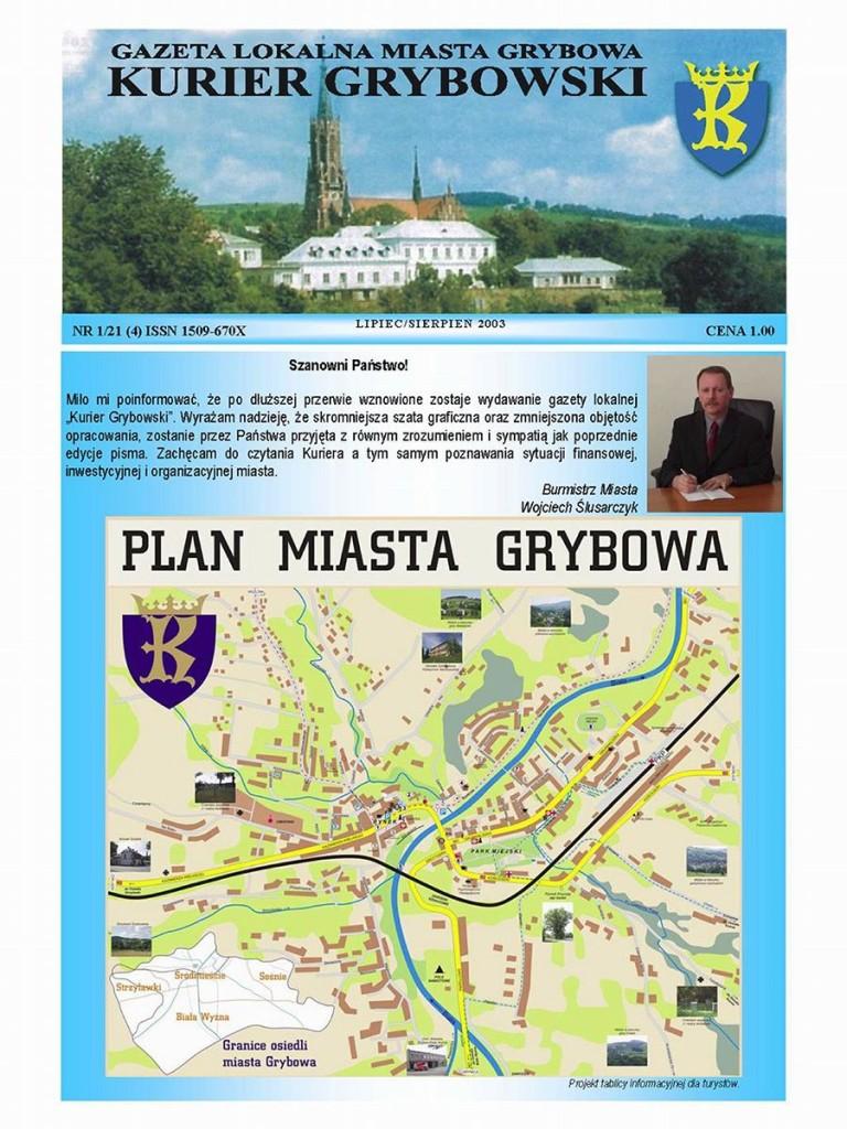 Kurier Grybowski (nr21) - okładka