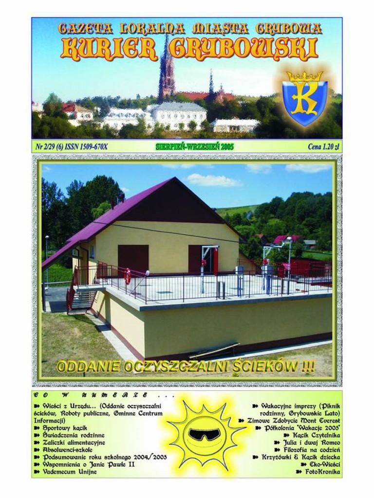 Kurier Grybowski (nr 29) - okładka