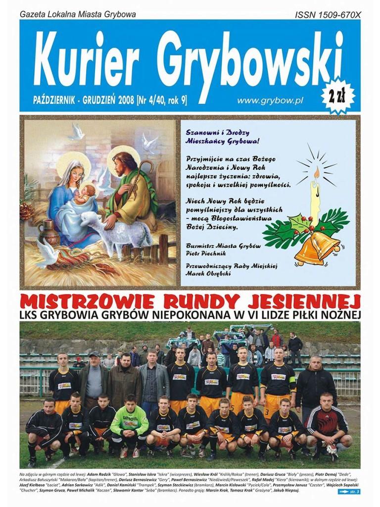 Kurier Grybowski (nr 40) - okładka