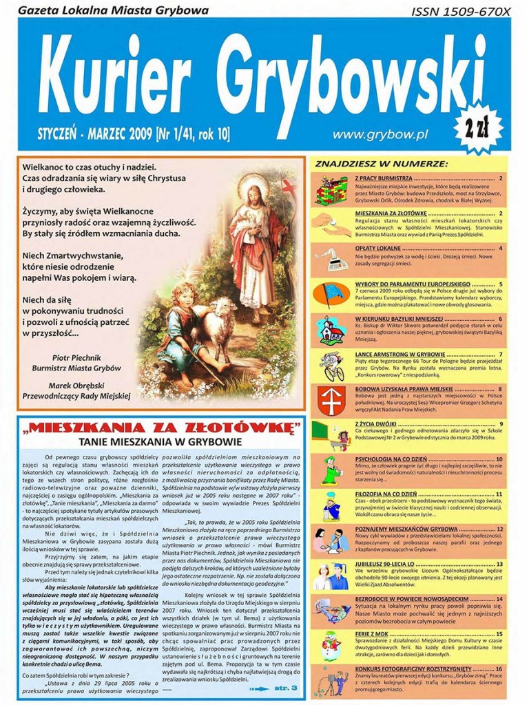 Kurier Grybowski (nr41) - okładka