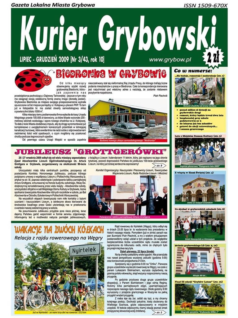 Kurier Grybowski (nr43) - okładka