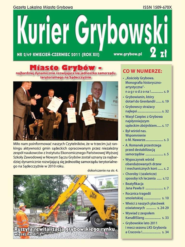 Kurier Grybowski (nr49) - okładka