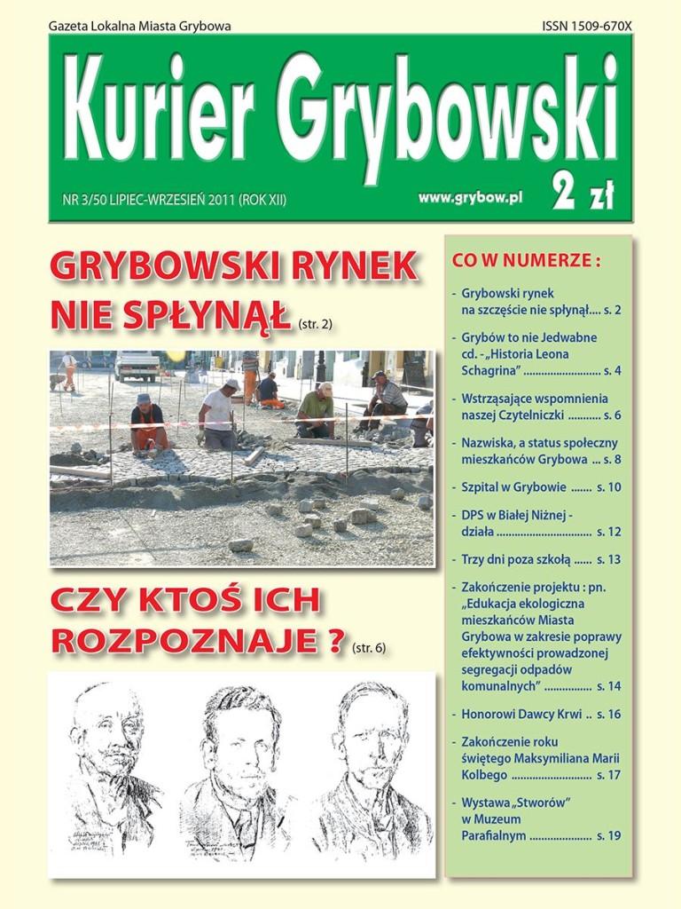 Kurier Grybowski (nr50) - okładka