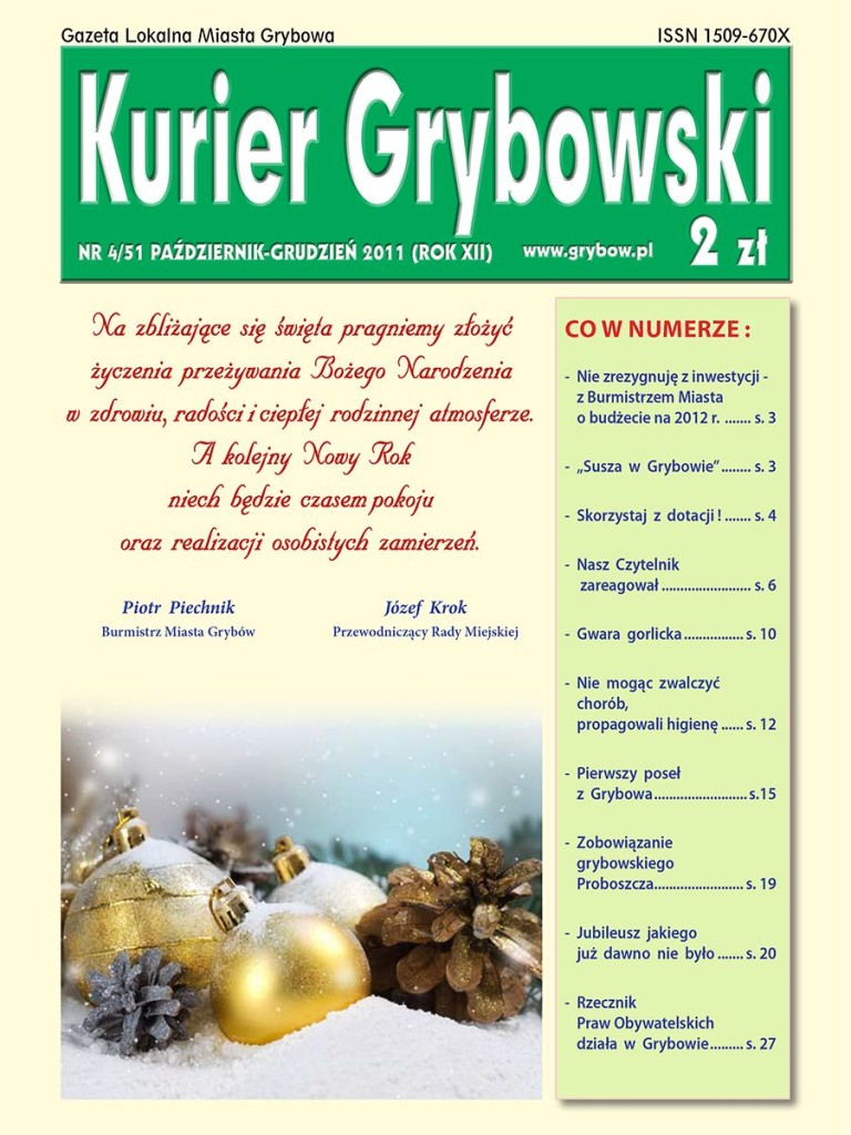 Kurier Grybowski (nr51) - okładka