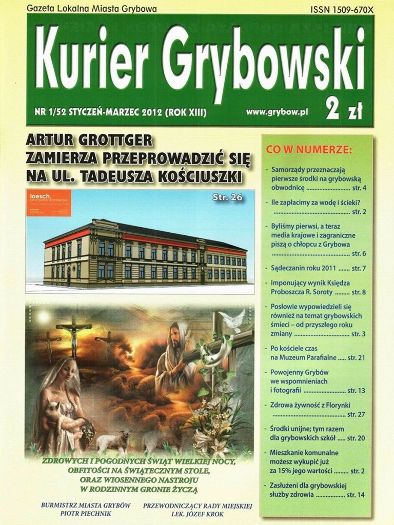 Kurier Grybowski (nr52) - okładka