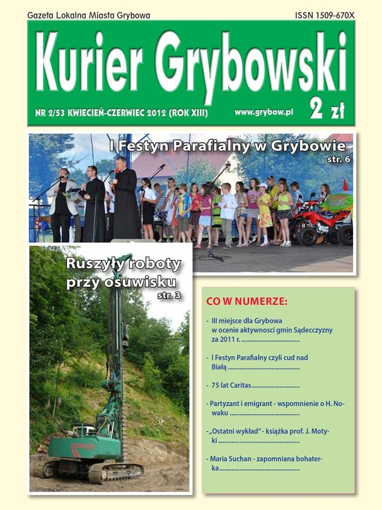 Kurier Grybowski (nr53) - okładka