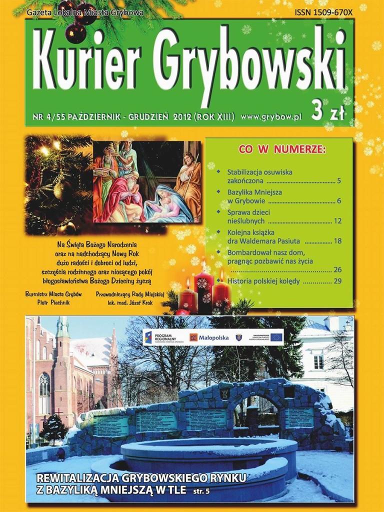 Kurier Grybowski (nr55) - okładka