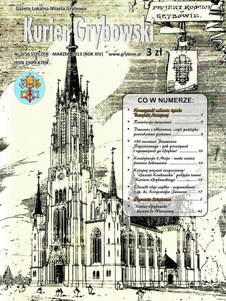 Kurier Grybowski (nr56) - okładka