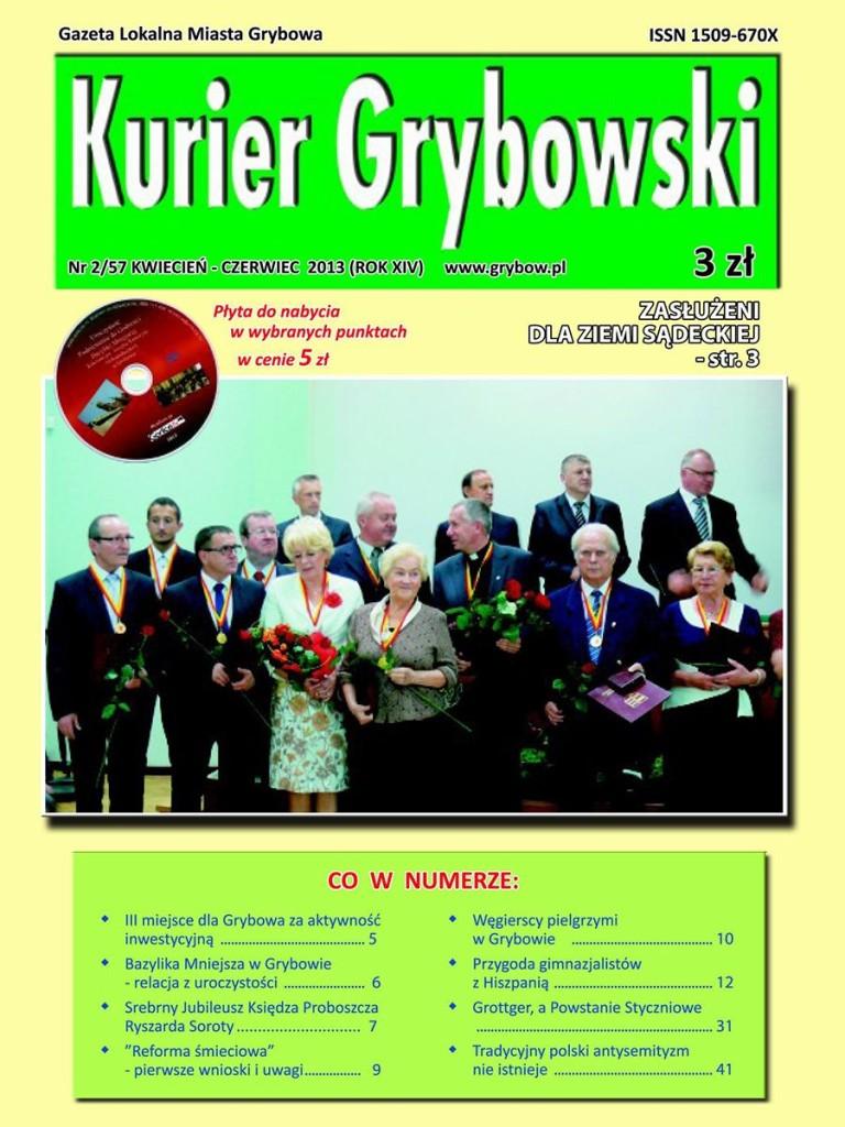 Kurier Grybowski (nr 57) - okładka