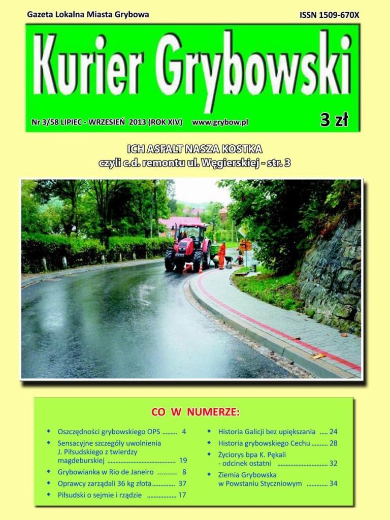Kurier Grybowski (nr 58) - okładka