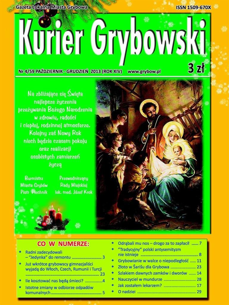 Kurier Grybowski (nr59) - okładka