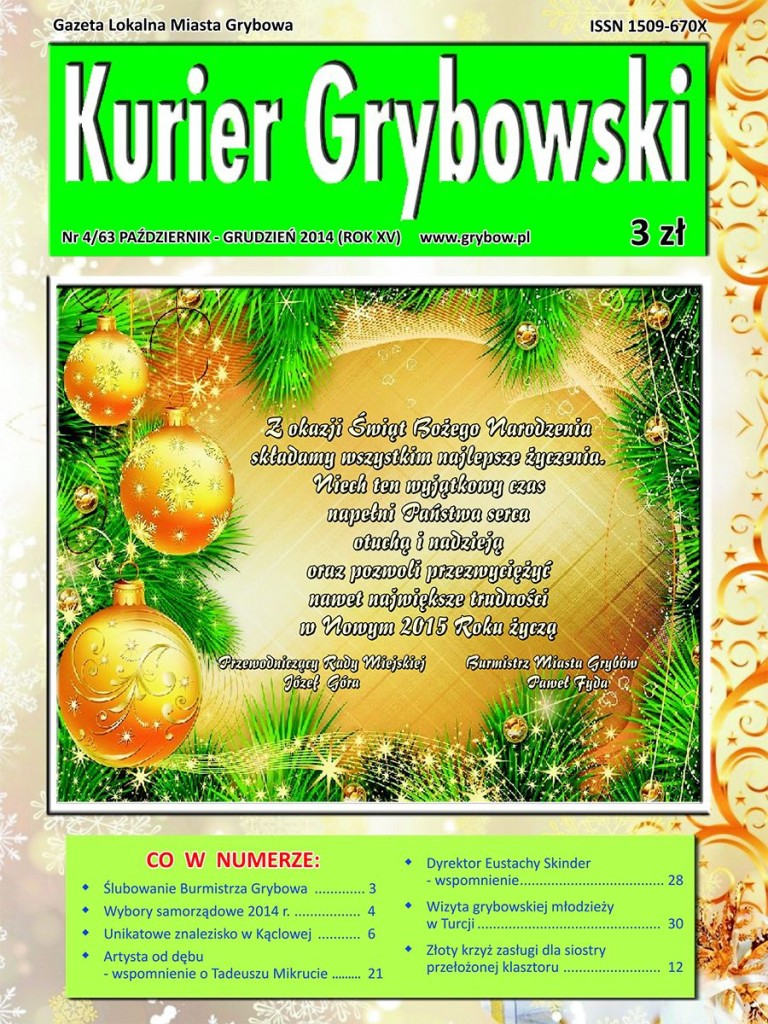 Kurier Grybowski (nr63) - okładka