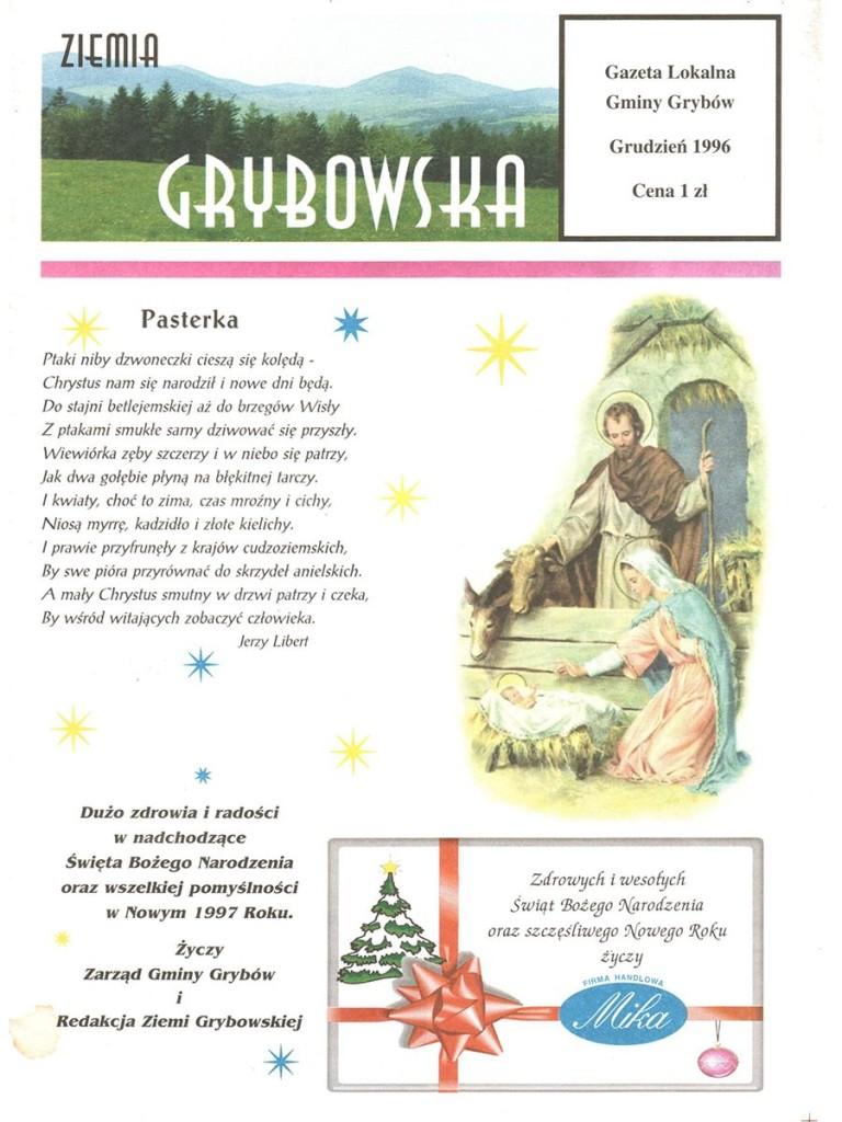 Ziemia Grybowska (nr01) - II edycja (okładka)