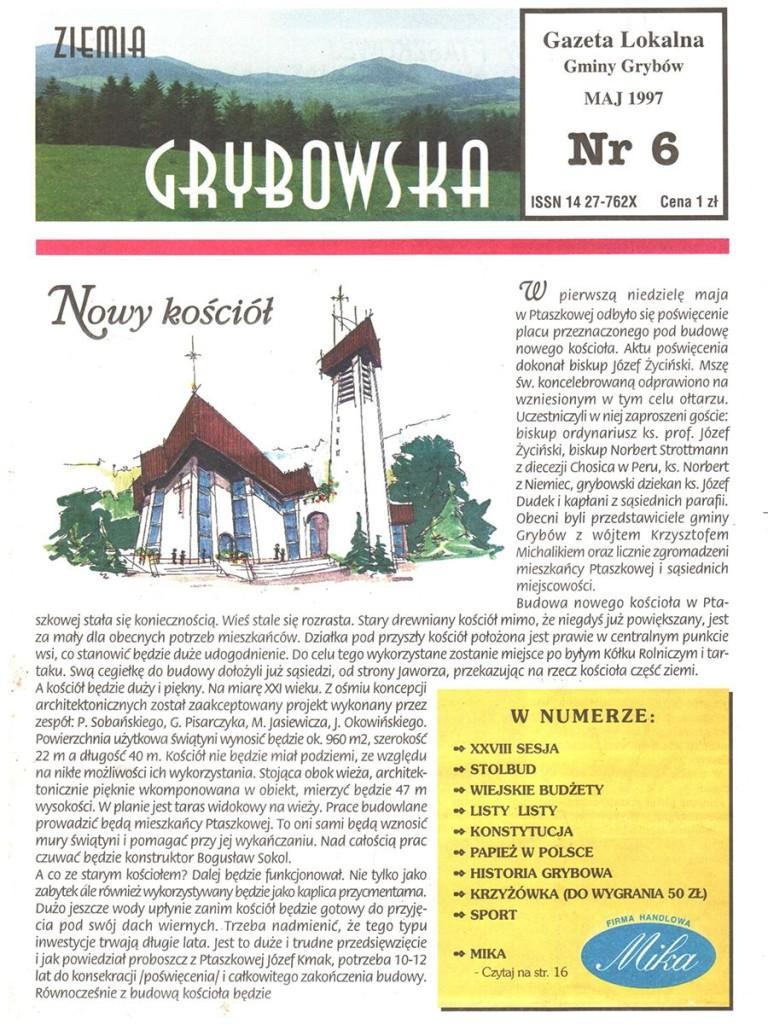 Ziemia Grybowska (nr 06) - II edycja (okładka)