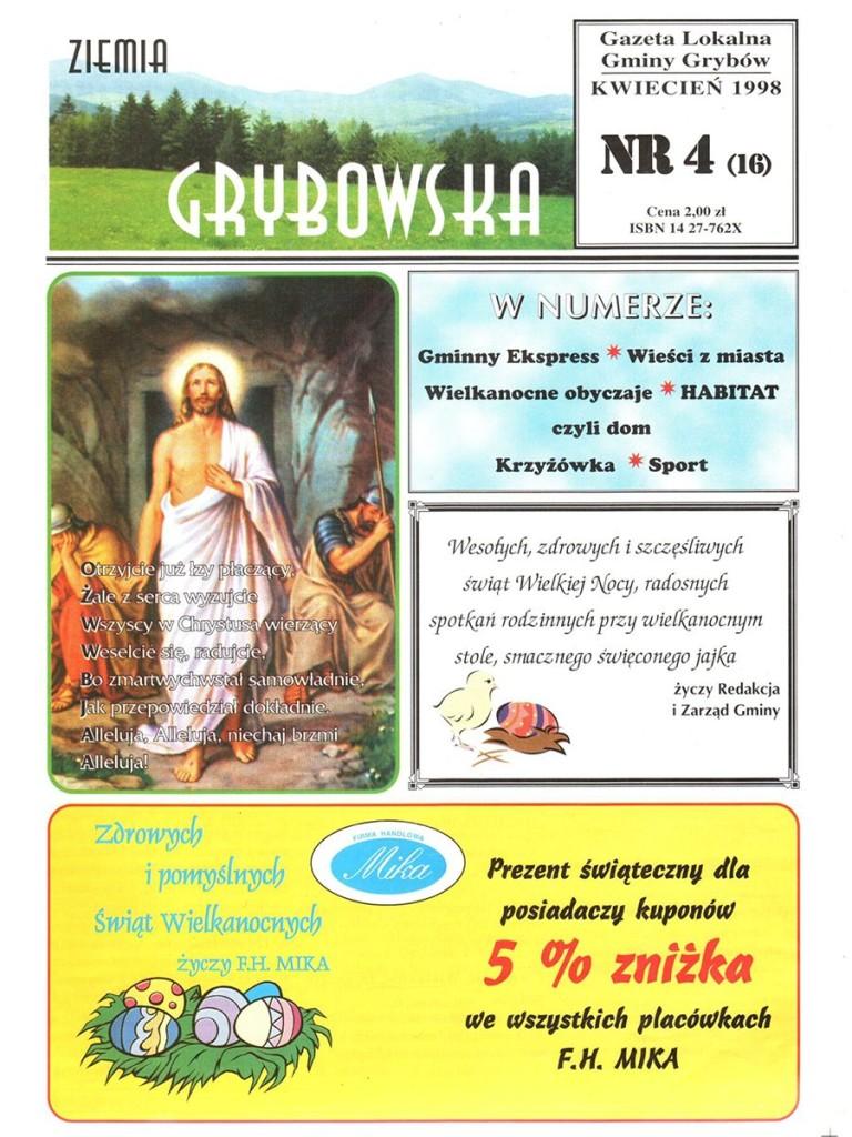 Ziemia Grybowska (nr16) - II edycja (okładka)