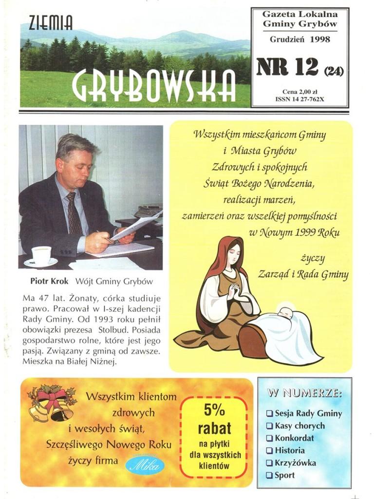 Ziemia Grybowska (nr24) - II edycja (okładka)