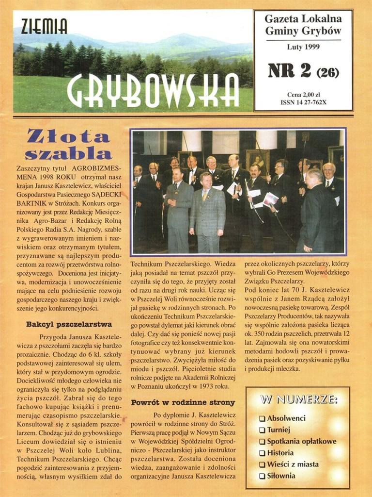 Ziemia Grybowska (nr26) - II edycja (okładka)