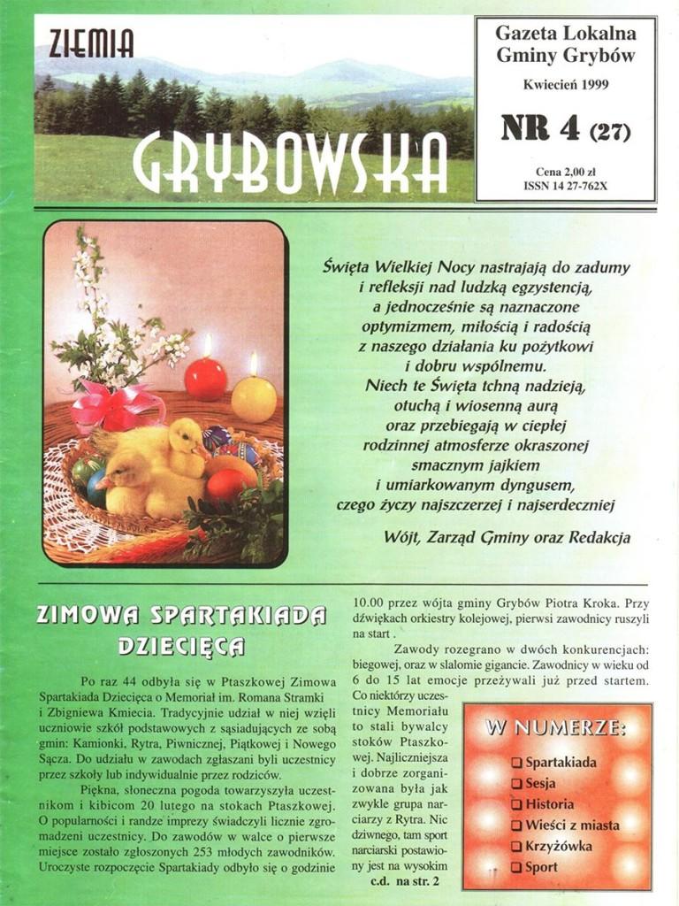 Ziemia Grybowska (nr27) - II edycja (okładka)