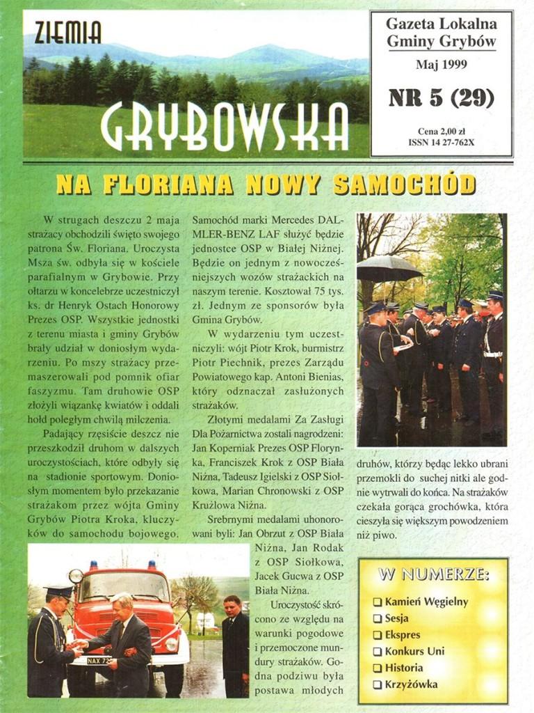 Ziemia Grybowska (nr29) - II edycja (okładka)