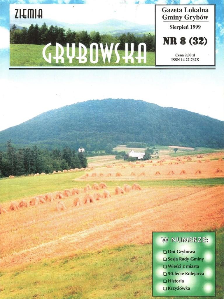 Ziemia Grybowska (nr32) - II edycja (okładka)