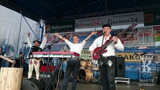 """Jesień Grybowska 2015: Koncert zespołu """"Baciary"""""""