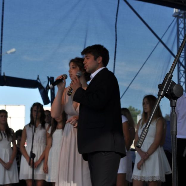 Jesień Grybowska 2015: Występ Chóru Bazylikowego
