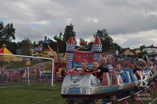 Jesień Grybowska 2015: Wesołe miasteczko