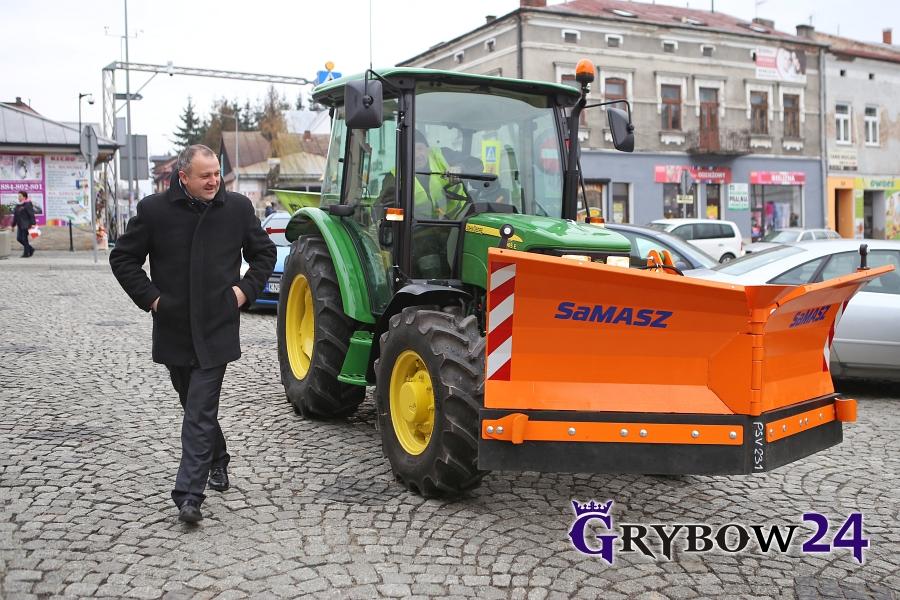 Grybow24.pl: Zakup nowego sprzętu przezMPGK wGrybowie